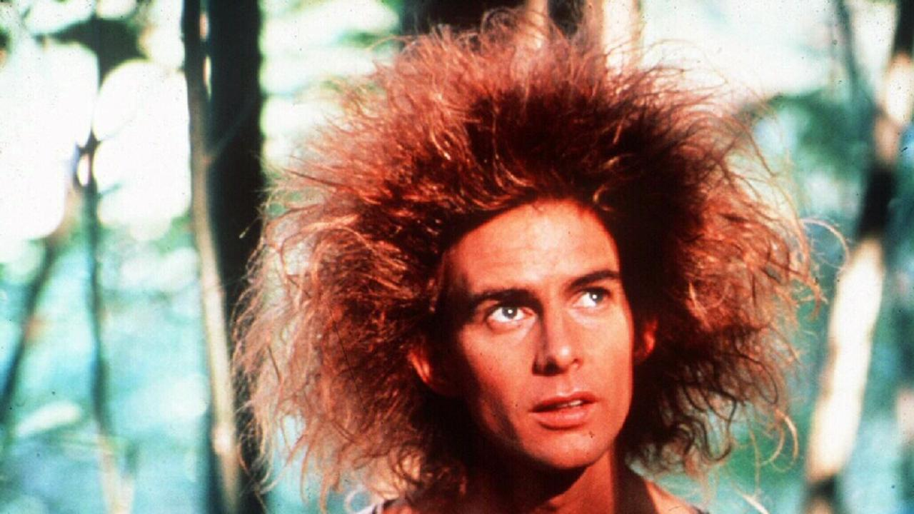 Actor Yahoo Serious in Young Einstein.