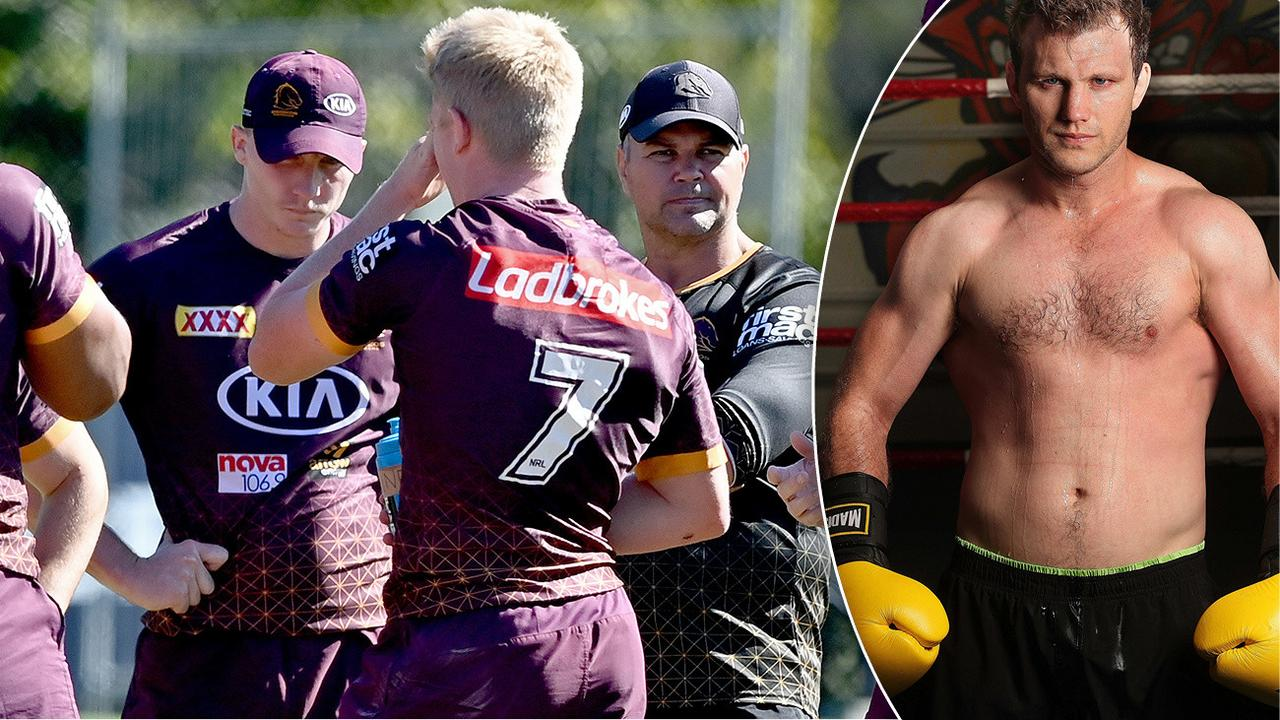 NRL 2020: Boxing champion Jeff Horn helps Brisbane Broncos