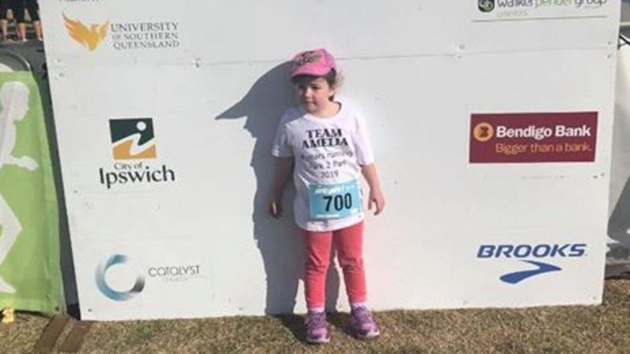Amelia Springall at last year's Park2Park