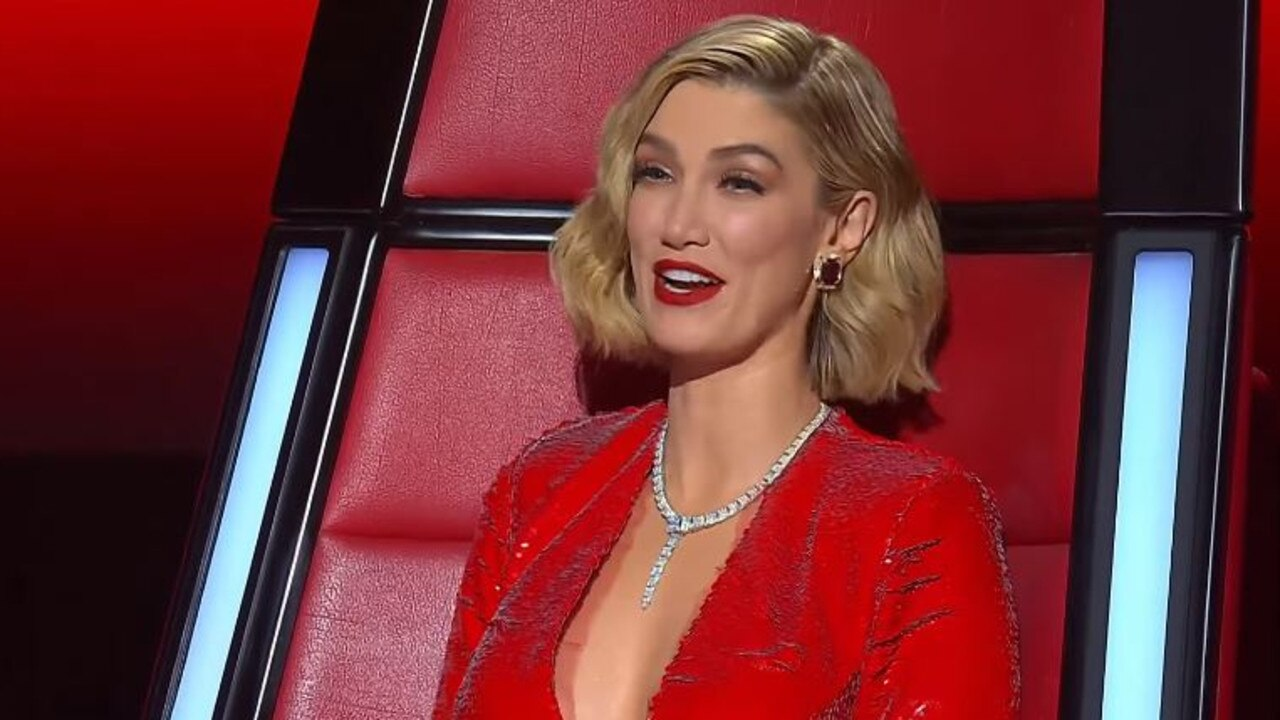 Delta Goodrem on The Voice.