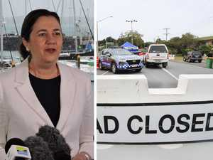 'We won't hesitate': Premier ready to shut out Sydney