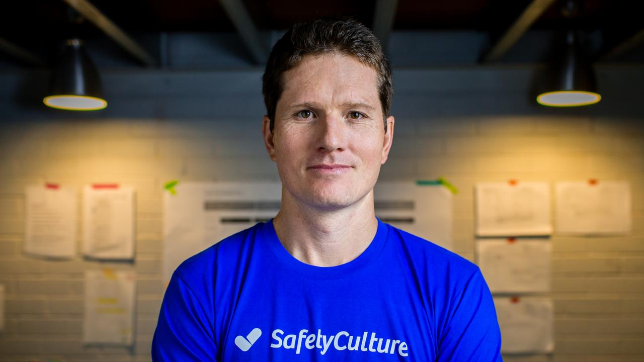Luke Anear founder of technology company SafetyCulture.