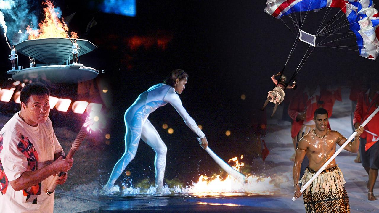Let the Games begin: Unforgettable Olympic opening ceremonies down the years.