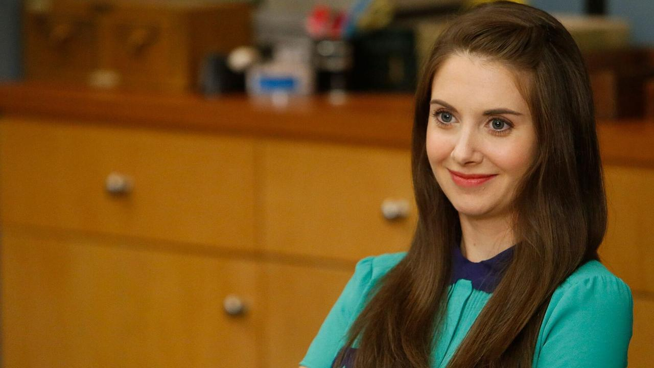 Community star Alison Brie. Picture: NBC