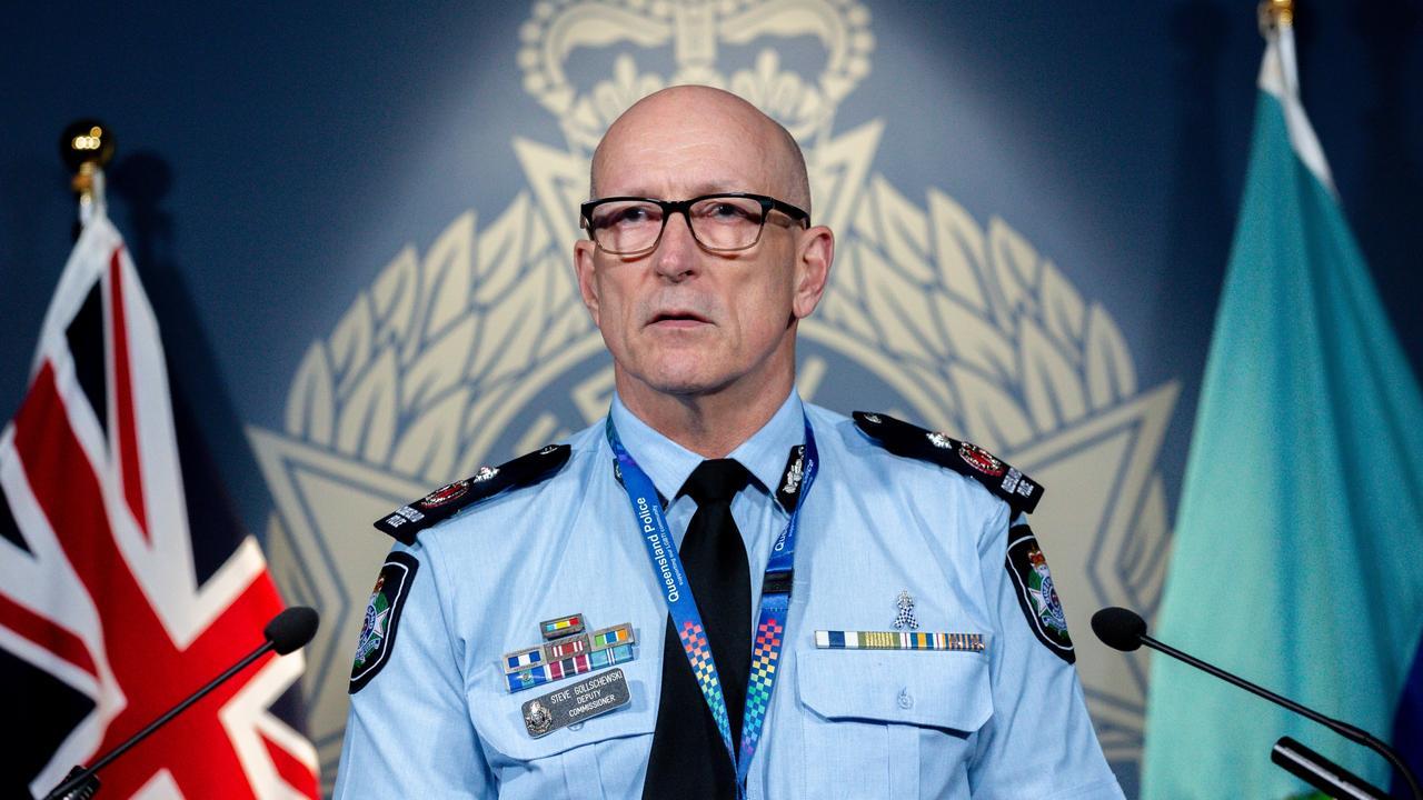 Police Deputy Commissioner Steve Gollschewski is blasting those trying to sneak into Queensland. Picture: NewsWire/David Kapernick