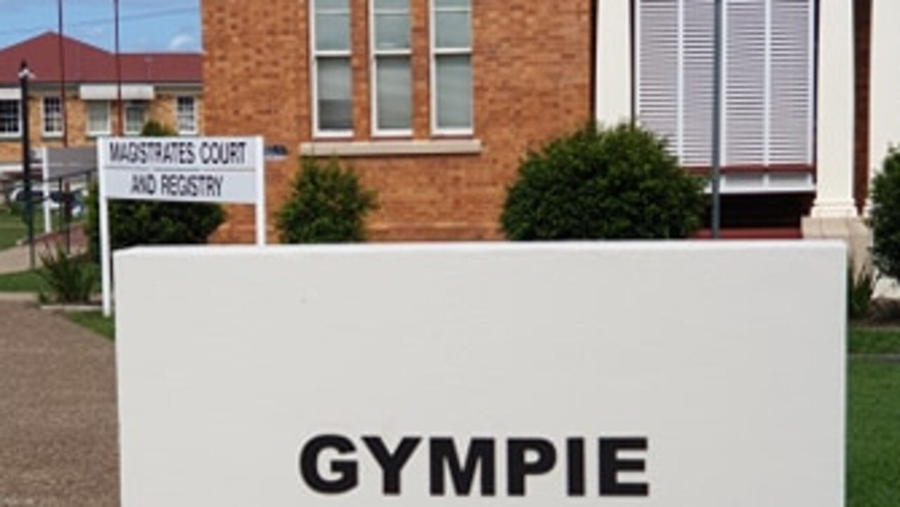Gympie District Court, where six people will appear today.