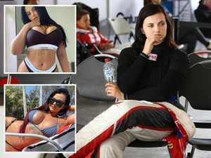 Supercars porn star's bombshell racing comeback