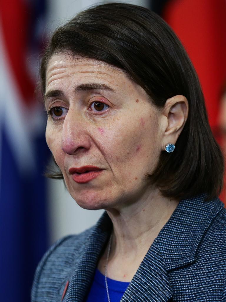 Premier Gladys Berejiklian. Picture: NCA Newswire