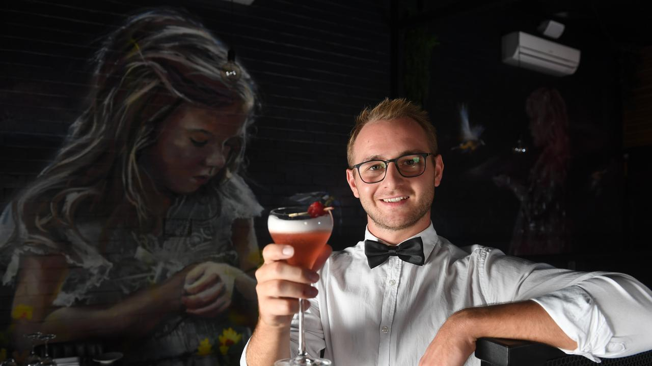ALL GOOD: There's no danger of fellow diners overhearing your cocktail chat as The Loft in Lismore restaurant is adhering to the 4 sqm per person protocols introduced by NSW Health at midnight on Thursday Jul 23 for restaurants and cafes. Photo: Marc Stapelberg