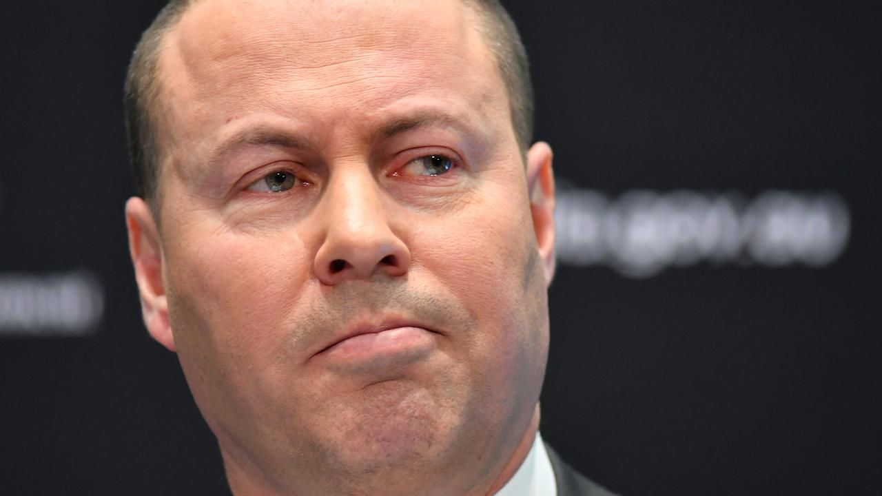 Treasurer Josh Frydenberg announced the extension to the JobKeeper scheme this week. Picture: Sam Mooy/Getty Images
