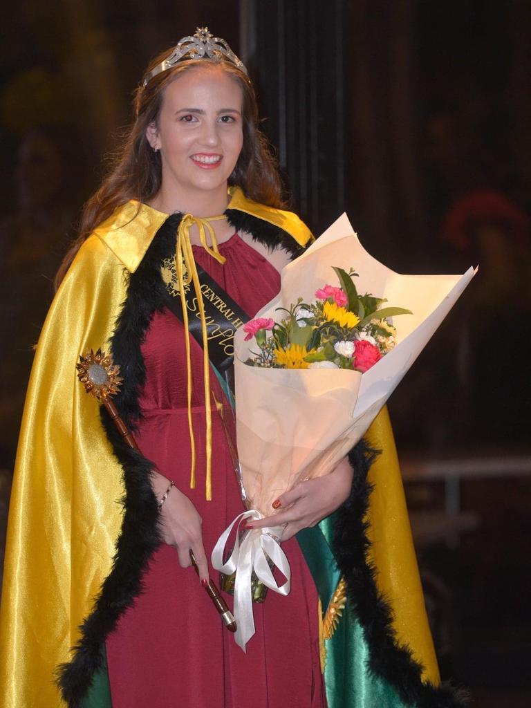 2020 Central Highlands Sunflower Queen Grace Simpson.
