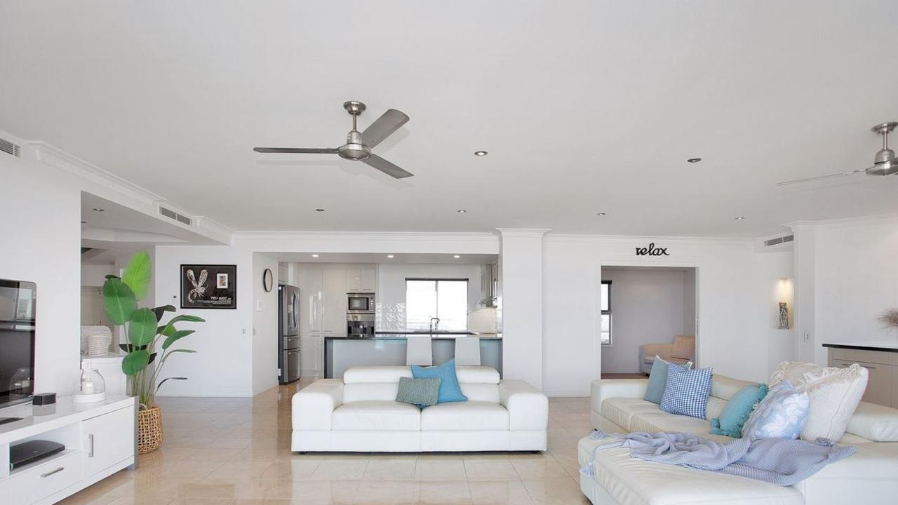 This incredible Mackay Harbour unit at 9/32 Mulherin Drive is on the market for $1,299,000. Picture: realestate.com.au