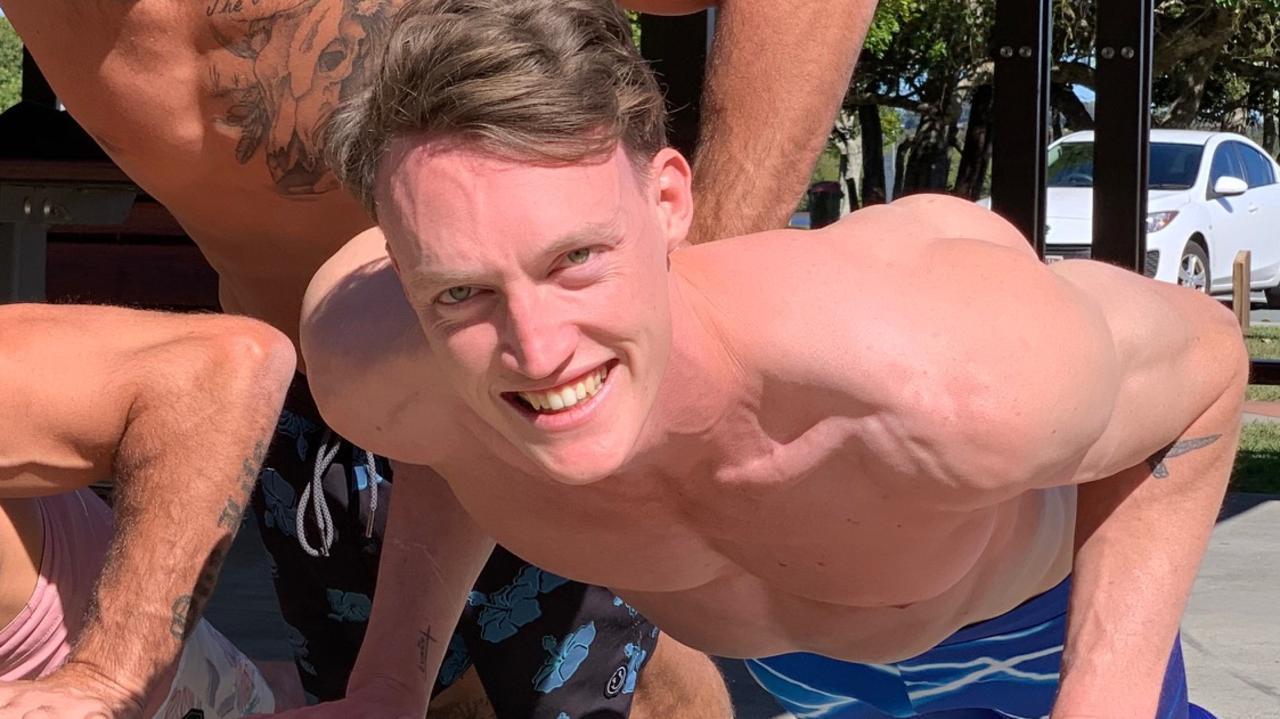 Ballet dancer Rainer Schue is ready for season four of Australian Ninja Warrior.