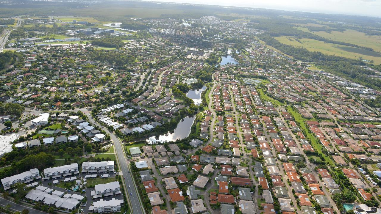 Aerial photos of the Sunshine Coast. Sippy Downs, Chancellor Park. Photo: Warren Lynam