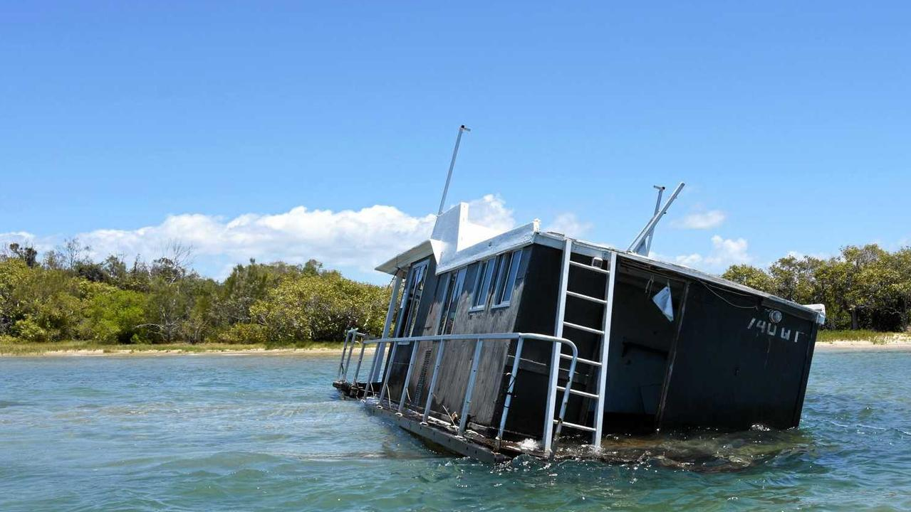 That sinking feeling in Noosa as action looms on our floating hulks.