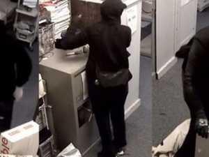 Smooth criminal: Fedora felon breaks into post office