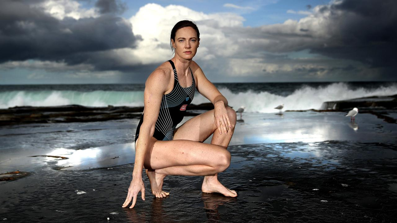 Cate Campbell has a constant reminder of what she is preparing for. Picture: Phil Hillyard