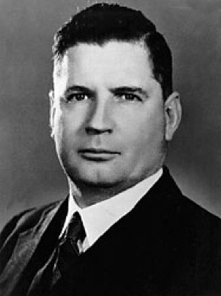 Former Australian prime minister and founder of AW Fadden & Co, Sir Arthur Fadden.