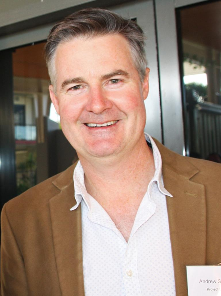Andrew Stevens of Project Urban at the Sunshine Coast Design Forum, Design Shaping Our Future, at Venue 114, Bokarina.