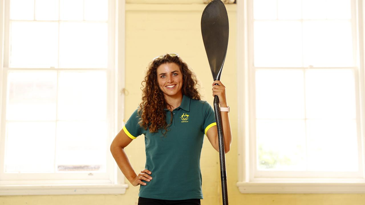 Jessica Fox says the excitement remains for a chance in Tokyo. Picture: Sam Ruttyn