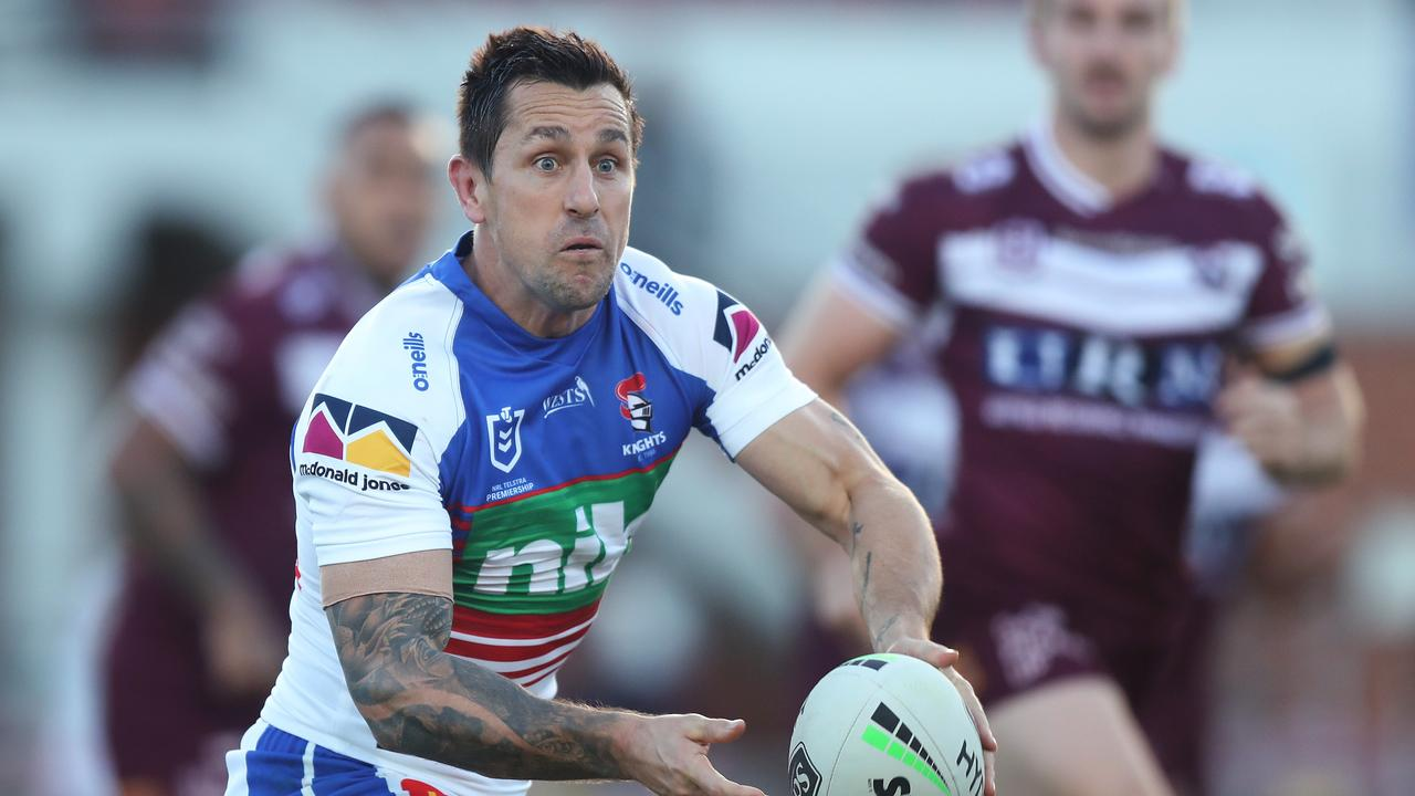 Mitchell Pearce is set to extend his contract to likely play out his career in Newcastle. Picture: Brett Costello