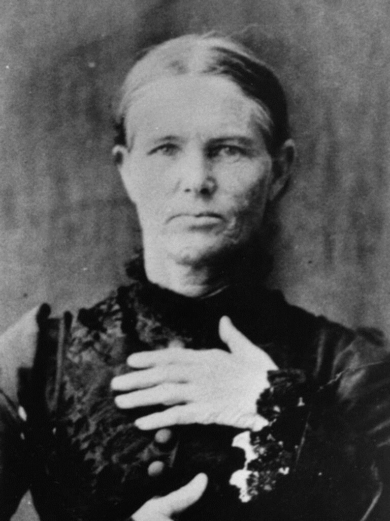 Ellen Thomson, hung in 1887 for murder of her husband, William Thomson, 24 years her senior. Picture: Townsville City Libraries