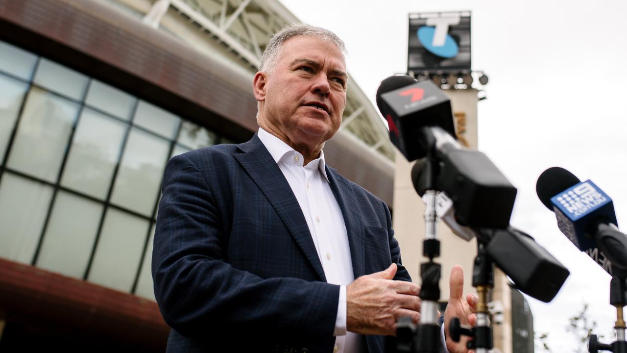 South Australia's Health Minister Stephen Wade backs No Jab No Play legislation. Picture: Morgan Sette