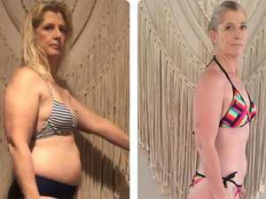 Mum's incredible isolation bikini 'shred'
