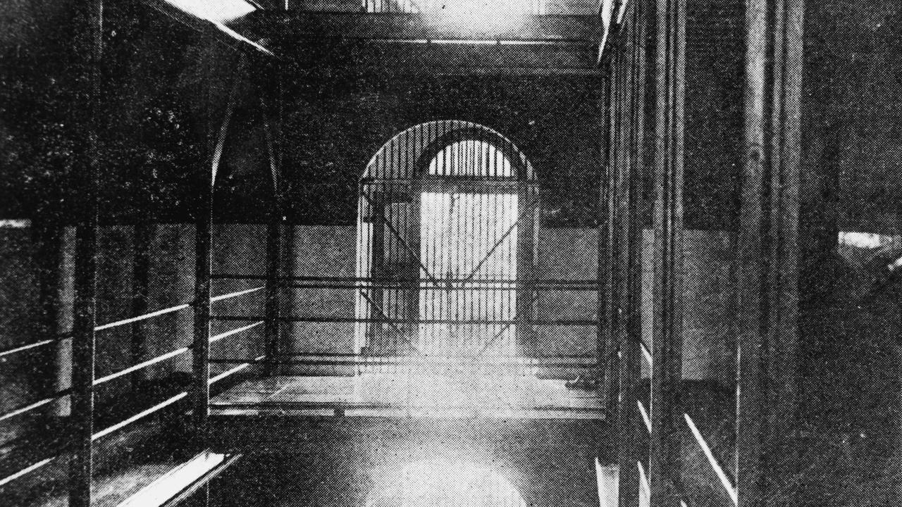 The Boggo Road gallows where criminals were hanged. Picture: State Library of Queensland