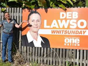 One Nation candidate not sorry about controversial signs