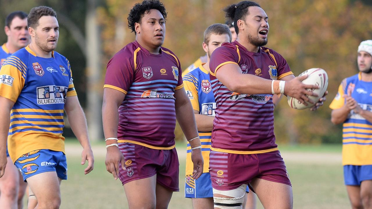 West End and Norths can look forward for more exciting battles in coming weeks. Picture: Rob Williams