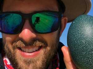 Coast man's first 23 days of 4000km journey
