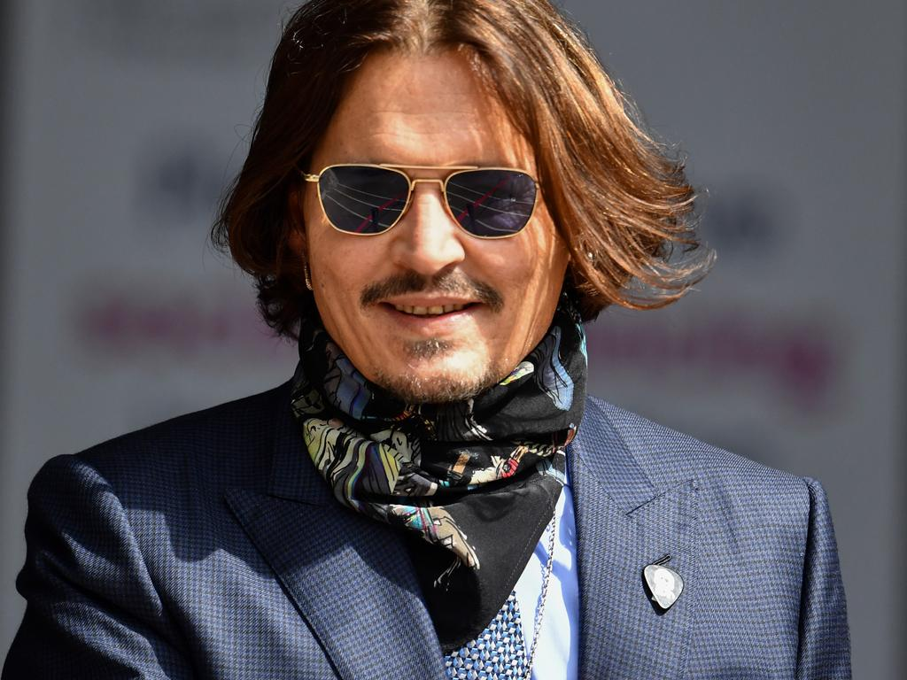 Johnny Depp's legal team said the video came from a confidential source. Picture: Gareth Cattermole/Getty Images.