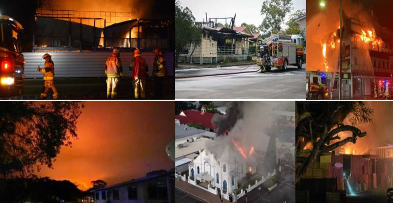 The region has faced a number of fires in recent years.