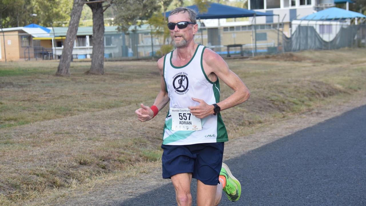Marathon winner Adrian Royce flew home in two hours, 46 minutes and 49 seconds. (Picture: Tristan Evert)