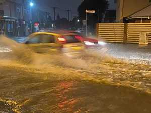 Wild weather lashes Sydney, kids rescued from flash flooding