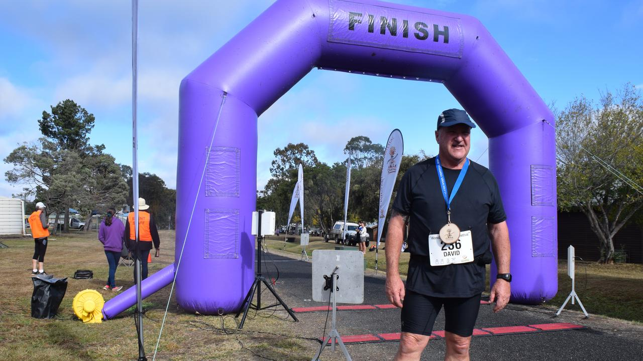 David Holleran said the Wondai Running Festival was the best event he has ever run. (Picture: Tristan Evert)
