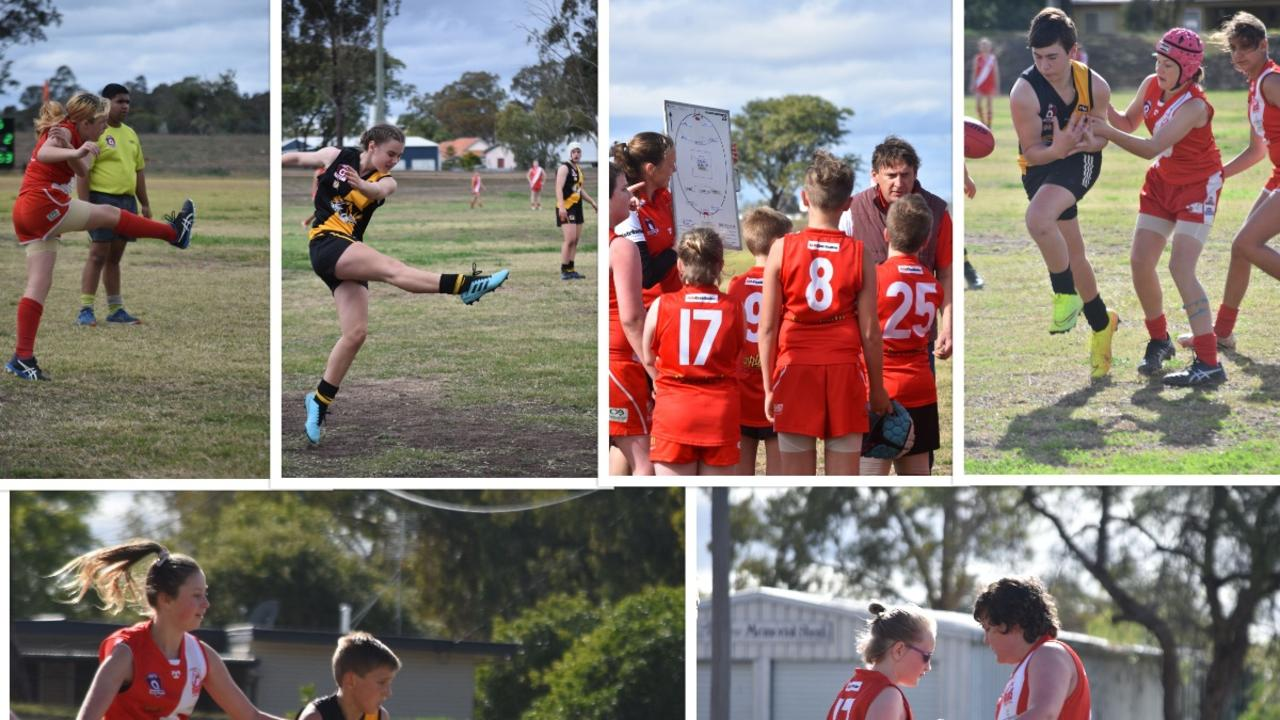 JUNIORS IN ACTION: Check out all the photos from the Swans v Tigers matches.