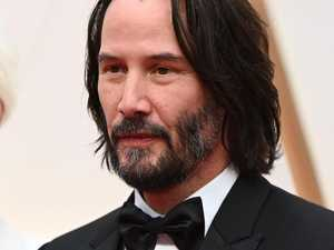 Keanu Reeves can't help being a nice guy