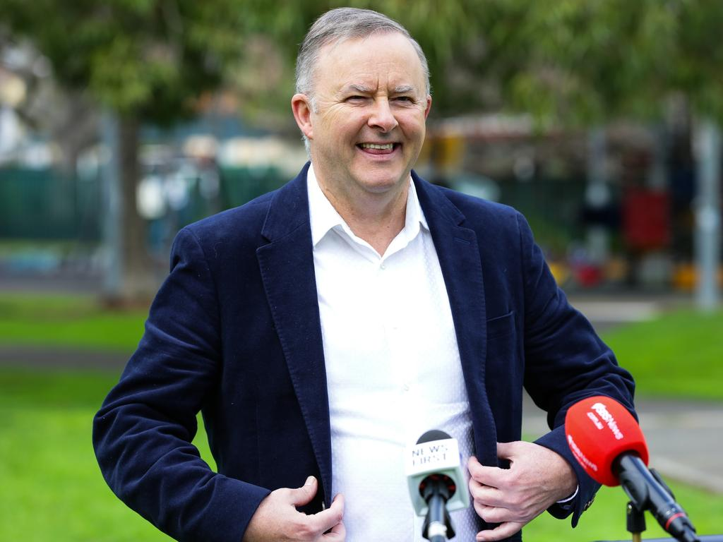 Anthony Albanese, Leader of the Australian Labor Party. Picture: NCA Newswire/ Gaye Gerard