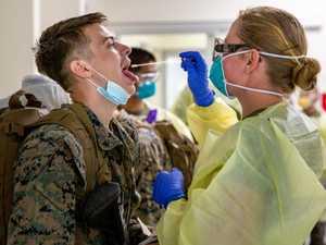 Final wave of US Marines arrive in Darwin, await results