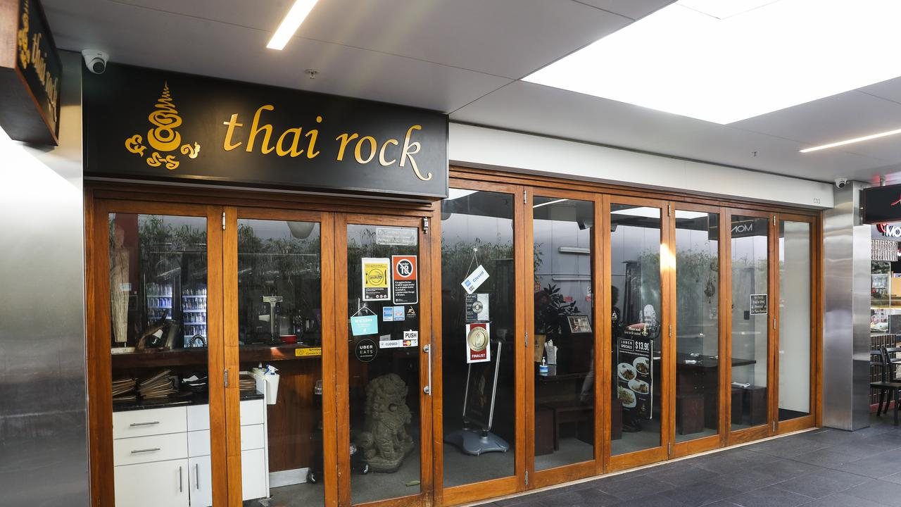 The other Thai Rock restaurant at Wetherill Park, which now has 67 cases of coronavirus linked to it. Picture: Dylan Robinson