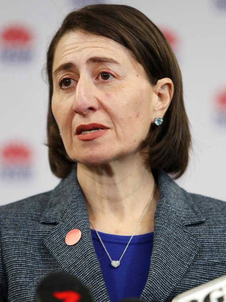 Premier Gladys Berejiklian says the move to temporarily scrap stamp duty in some cases will create jobs. Picture: Richard Dobson