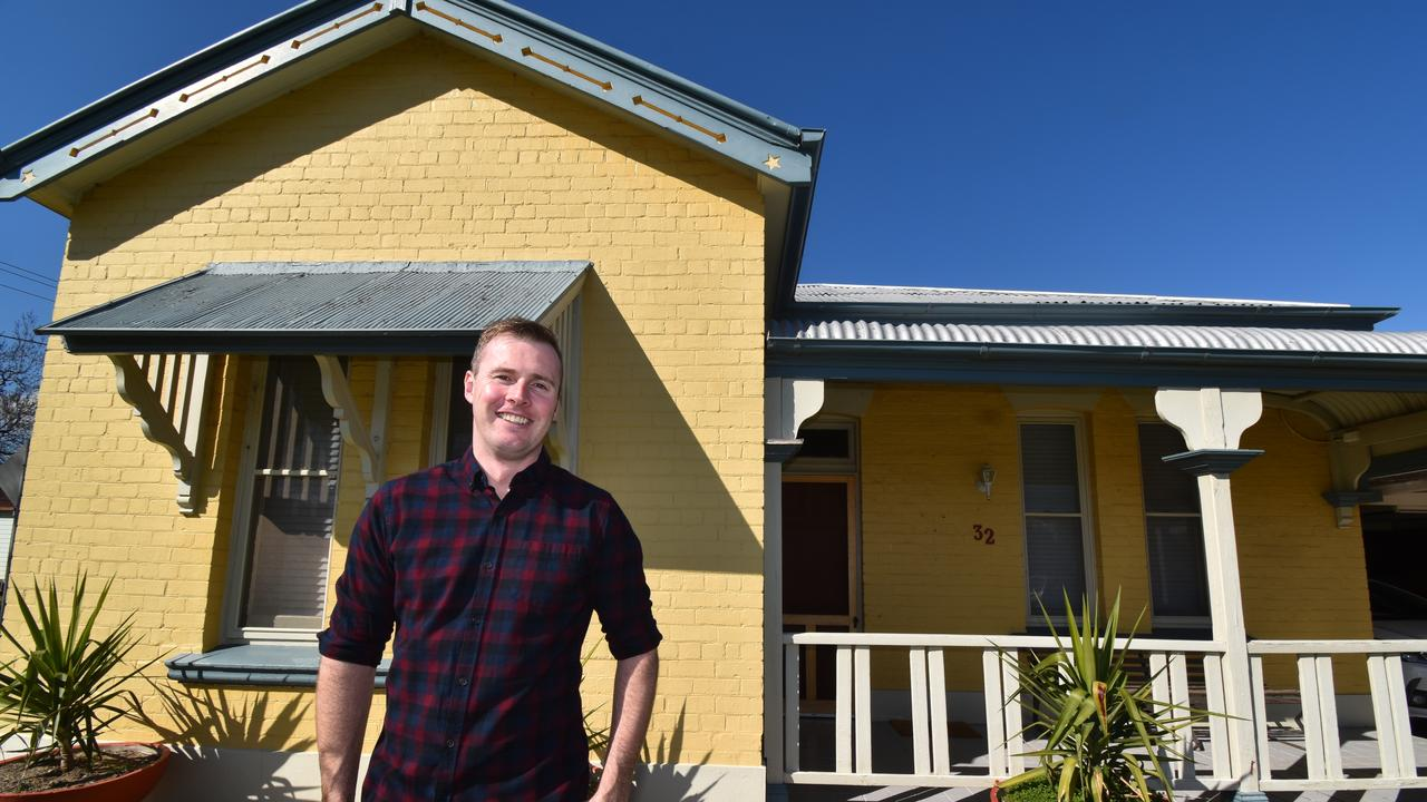 Homebuyer Clancy Bennett used the First Home Loan Deposit Scheme. Picture: Supplied