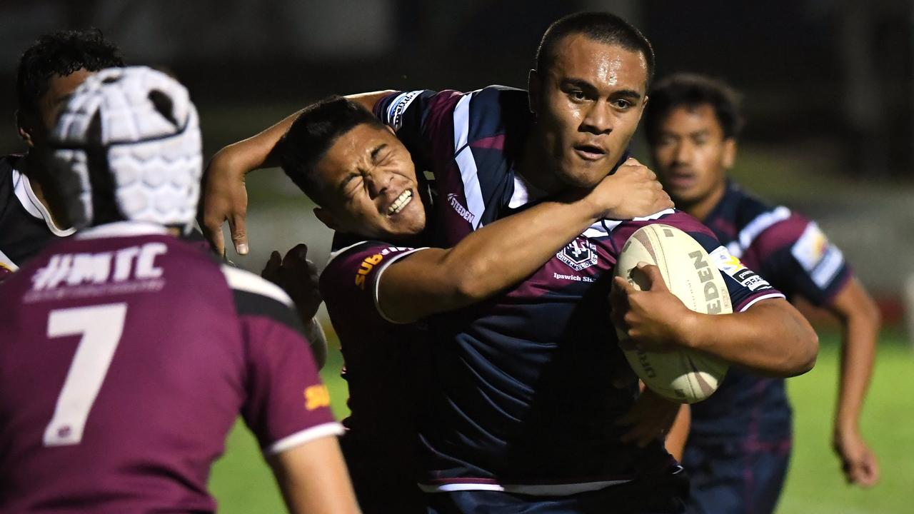 Ipswich State High School's open rugby league team is hoping to continue its impressive progress in the Langer Cup competition starting on Wednesday. Picture: Rob Williams.