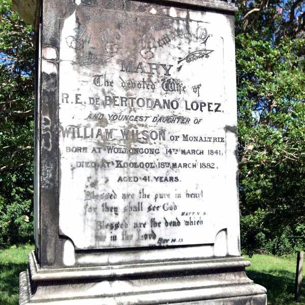 Wilson Family Gravestone