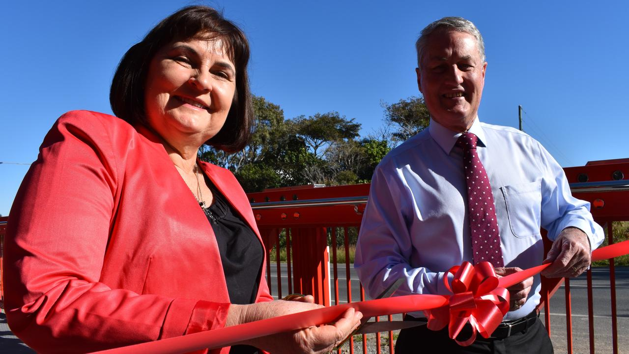 The Harbour Road shared path was officially opened on Monday July 27 by Mackay MP Julieanne Gilbert and Mackay Regional Council Mayor Greg Williamson.