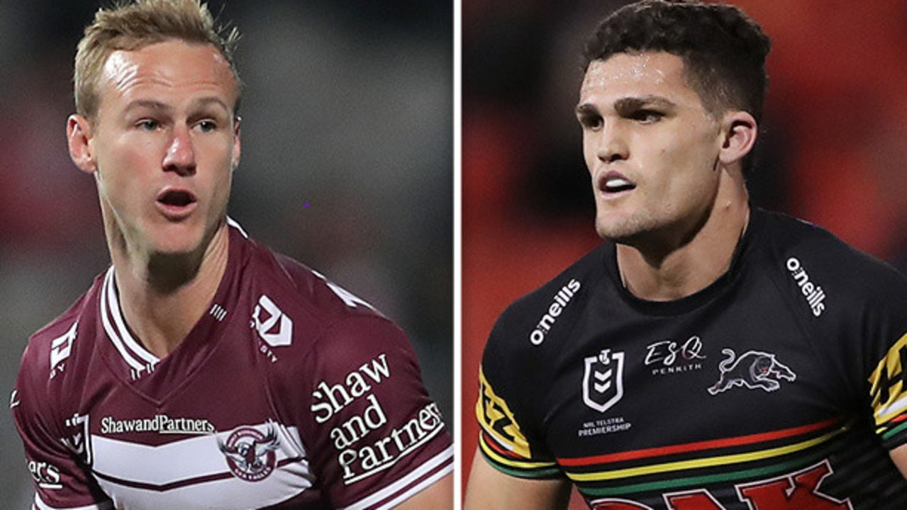 Daly Cherry-Evans and Nathan Cleary.