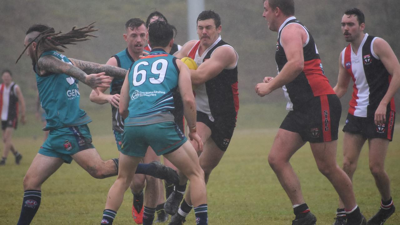 Sawtell Toormina Saints are unbeaten in 2020 after a narrow win over Coffs Harbour Breakers.