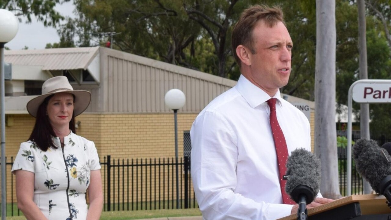 COVID-19 CASE: In May, Deputy Premier Steven Miles and Keppel MP Brittany Lauga visited the North Rockhampton Nursing Centre addressing community concerns that the facility could turn into a coronavirus hotspot.